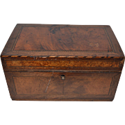 Inlaid Wooden Box