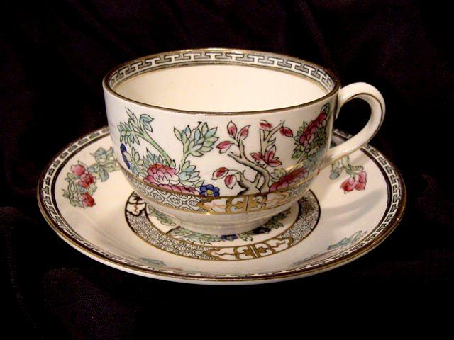 50% OFF! Indian Tree Pattern – Cup & Saucer – JG Meakin 1912+