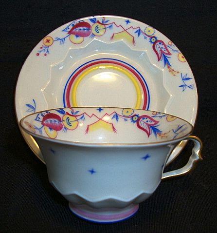 beautiful bavarian porcelain demitasse cup and saucer. Black Bedroom Furniture Sets. Home Design Ideas