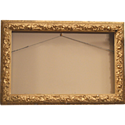 Antique Wood Frame ~ Gesso Gold Gilt ~ late 1800's early 1900's