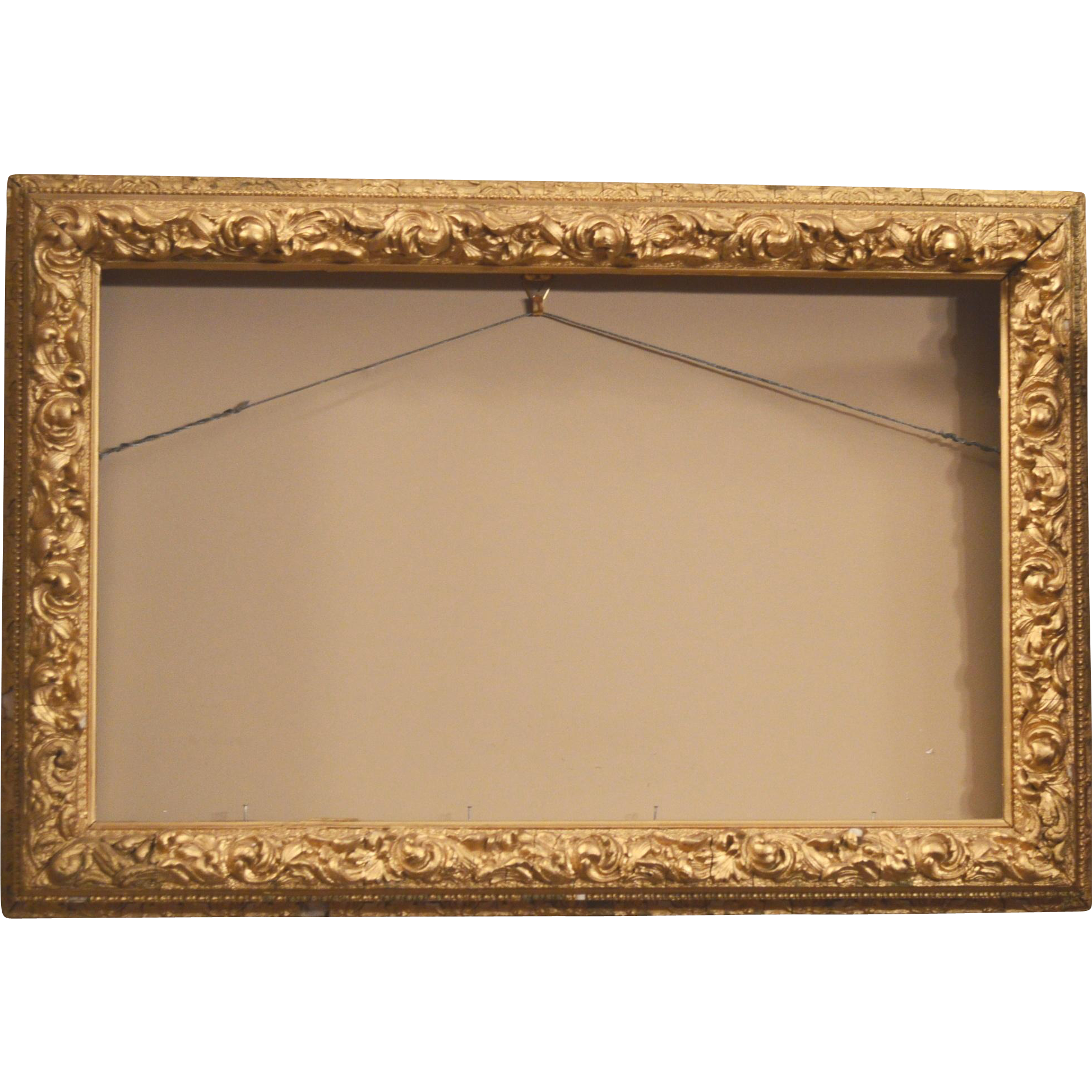 Antique Wood Frame Gesso Gold Gilt Late 1800 S Early