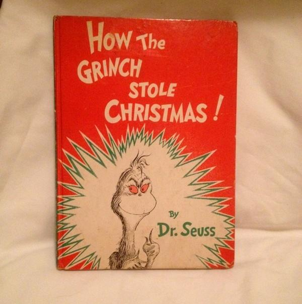 How The Grinch Stole Christmas! By Dr. Seuss 1957 Random House ...
