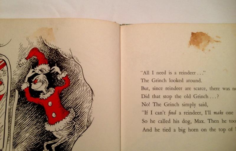 How The Grinch Stole Christmas! By Dr. Seuss 1957 Random House ...