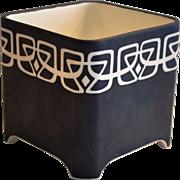 Planter / Cachepot ~ Bold Arts & Crafts ~ Limoges Porcelain ~ L BERNARDAUD B&C  Limoges France 1900-1914