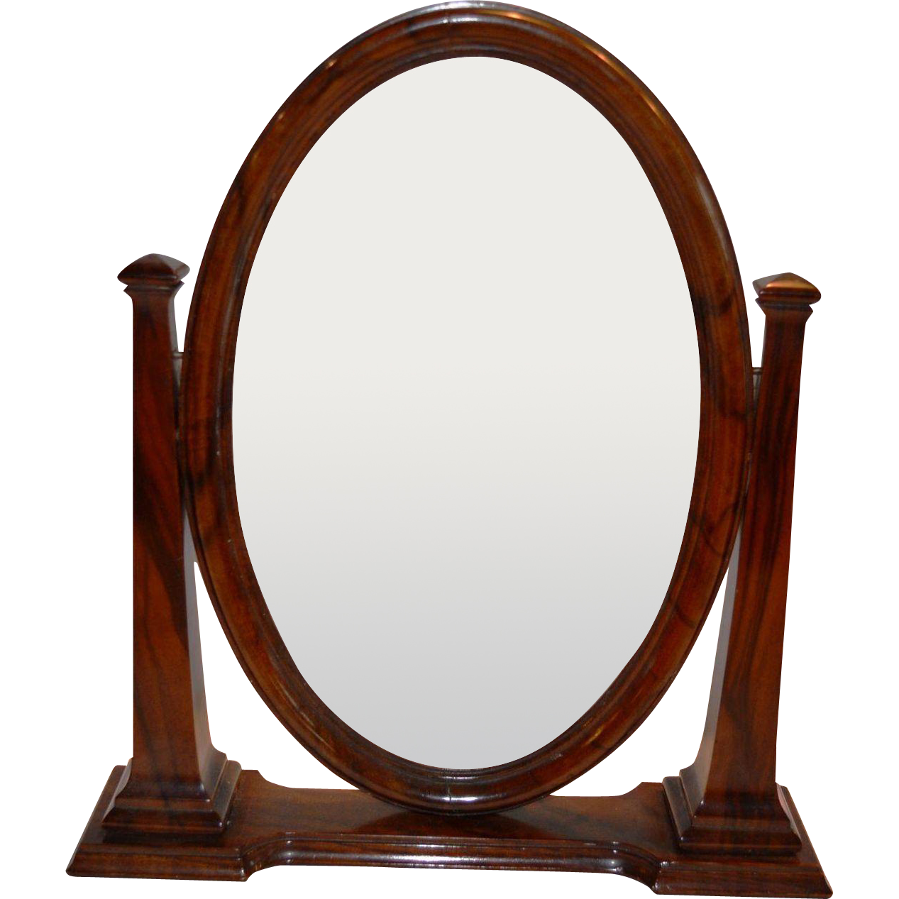 Oval Swing Frame for Dresser or Desk ~ 1880-1900