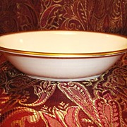 Exquisite Pickard Serving Bowl / Dish ~2 Available ~ Hand Painted with Encrusted Diamond Rim ~ Jefferson Pattern ~ Pickard Studios Chicago IL  1938 +