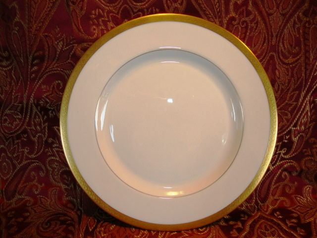 "12 Available  Pickard 8 ¼"" Salad Plate  ~  Hand Painted with Encrusted Diamond Rim ~ Jefferson Pattern ~ Pickard Studios Chicago IL  1938 +"