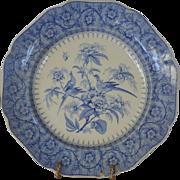 Gorgeous Antique Earthenware Transferware ~ Pheasants on Branch ~ Regina ~ John Ridgway Staffordshire England 1830-1841