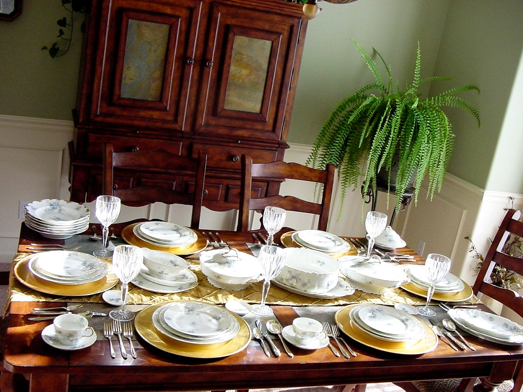 Dinner table with mexican food - Table Set Dinner Table Dinner Beautiful Impressive Haviland Limoges Porcelain Piece With Table Set Dinner