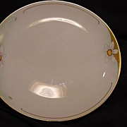 Gorgeous Bavarian / Limoges Porcelain Cabinet Plate ~ Hand Painted with  Pheasant's Eye Daffodils / Narcissus ~ Favorite Bavaria UNO / B & H Blakeman & Henderson France 1900 – 1914