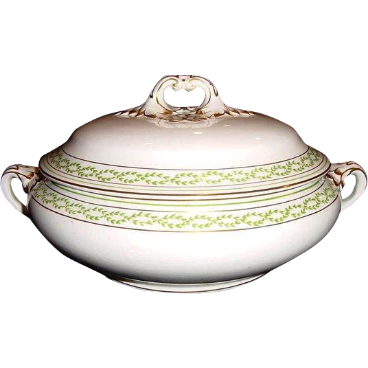 50% OFF Tureen - Covered Dish by Booths ca. 1906