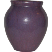 Gorgeous Fulper  Ovid vase ~ Wisteria Purple Glaze ~ Mold 584 ~ Fulper Art Pottery ~ Flemington, New Jersey 1916-1922