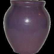 Gorgeous Fulper  Ovid vase ~ Wisteria Purple Glaze ~ Mold 584 ~ Fulper Art Pottery ~ Flemington, New Jersey 1916-1922