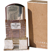 Perfume Bottle Paris, France Boxed Florel Commercial