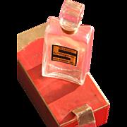 Perfume Bottle Schiaparelli Salut with Box