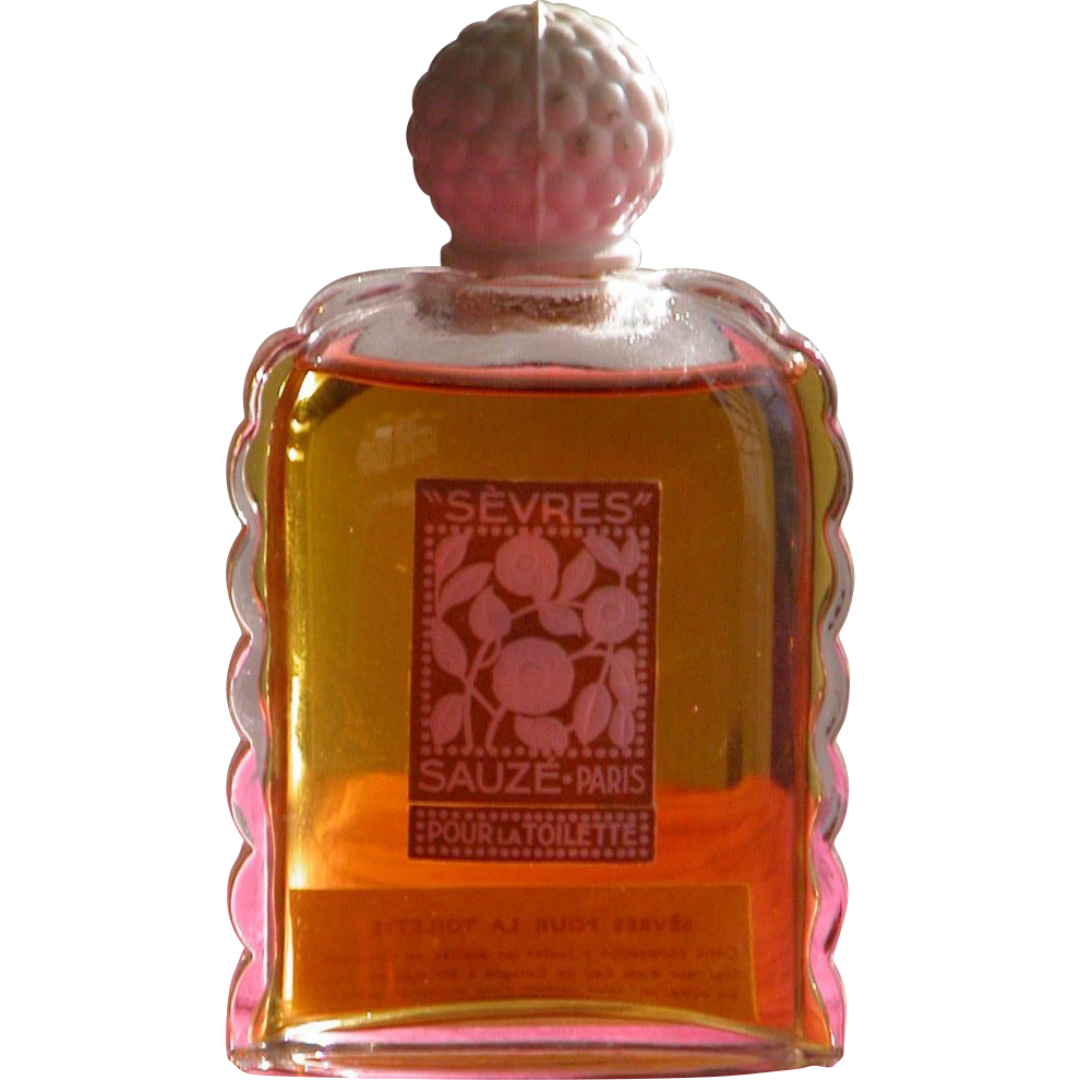 French Perfume Bottle Sauze Parfums Paris in Excellent Unused Condition 1936