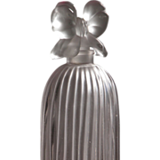 Perfume Bottle Frosted Glass Indiscret Tallest Size by Lucien Lelong