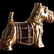 Estee Lauder Perfume Boxed Scottie Dog with Solid Perfume