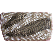 Beaded Clutch Purse Wallet Jeweled