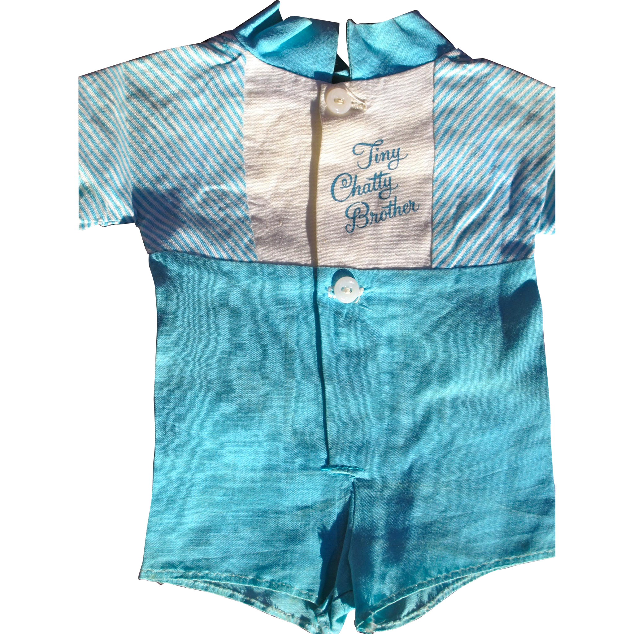 Doll Tiny Chatty Cathy Brother Outfit