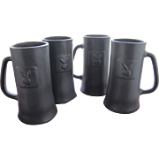 Playboy Club Beer Mugs From X Playboy Bunny Photo and Provenance