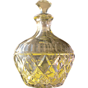 Crystal Perfume Bottle Lavender Purple Perfect