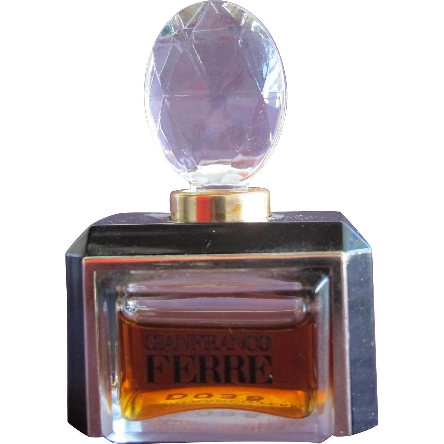 Perfume Bottle Extract Gianfranco Ferre for Women Rare Discontinued Commercial Parfum