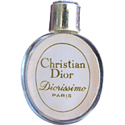Christian Dior Mini Perfume Bottle Hard to Find Diorissimo Paris