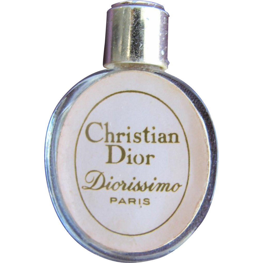 Christian Dior Mini Perfume Bottle Hard to Find Diorissimo Paris