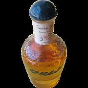 Glass Perfume Bottle Bakelite Top Shulton Friendship Garden.
