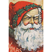 Santa Post Card Great Condition