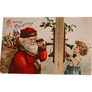 Santa Post Cards Christmas Series by Ellen Clapsaddle