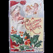 Santa Post Card Christmas Embossed 1908