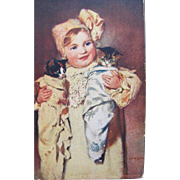 Artist Signed Post Card with Kittens by Owens