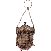 Mesh Purse for Doll Purse or Collectible Art Nouveau Coin Purse