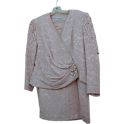 Vintage Pink Suit 1980's with Kennedy Provenance