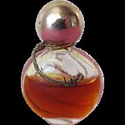 Rare Schiaparelli Perfume Bottle with Perfume Micro Mini with S