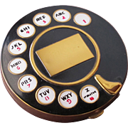 Rotary Telephone Compact Pristine and Clean by Meredith