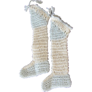 Handmade Baby Doll Shoes Leg Warmers