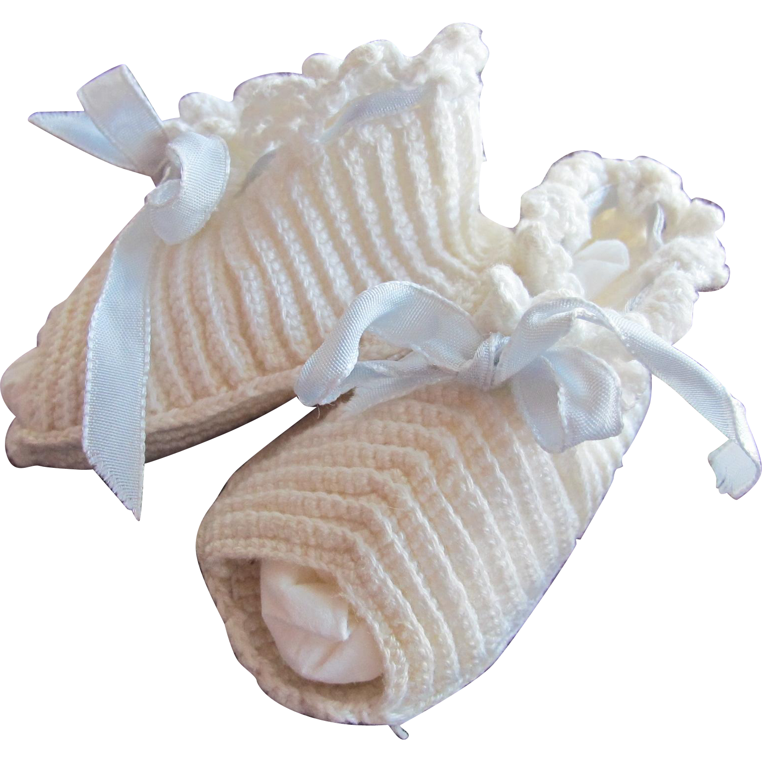 Vintage Baby Doll Shoes Hand Made