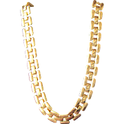 Napier Necklace Gold Metal Chain