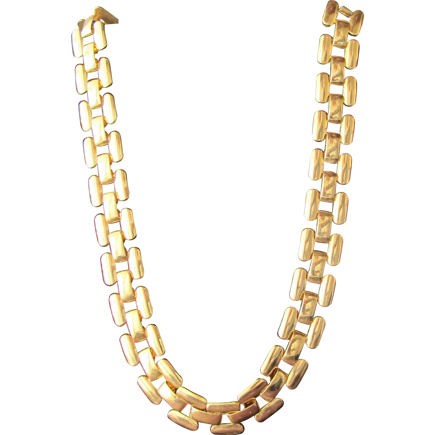 Napier Necklace Gold Metal Chain