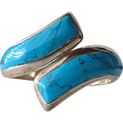 Turquoise Sterling Silver Bracelet from Mexico