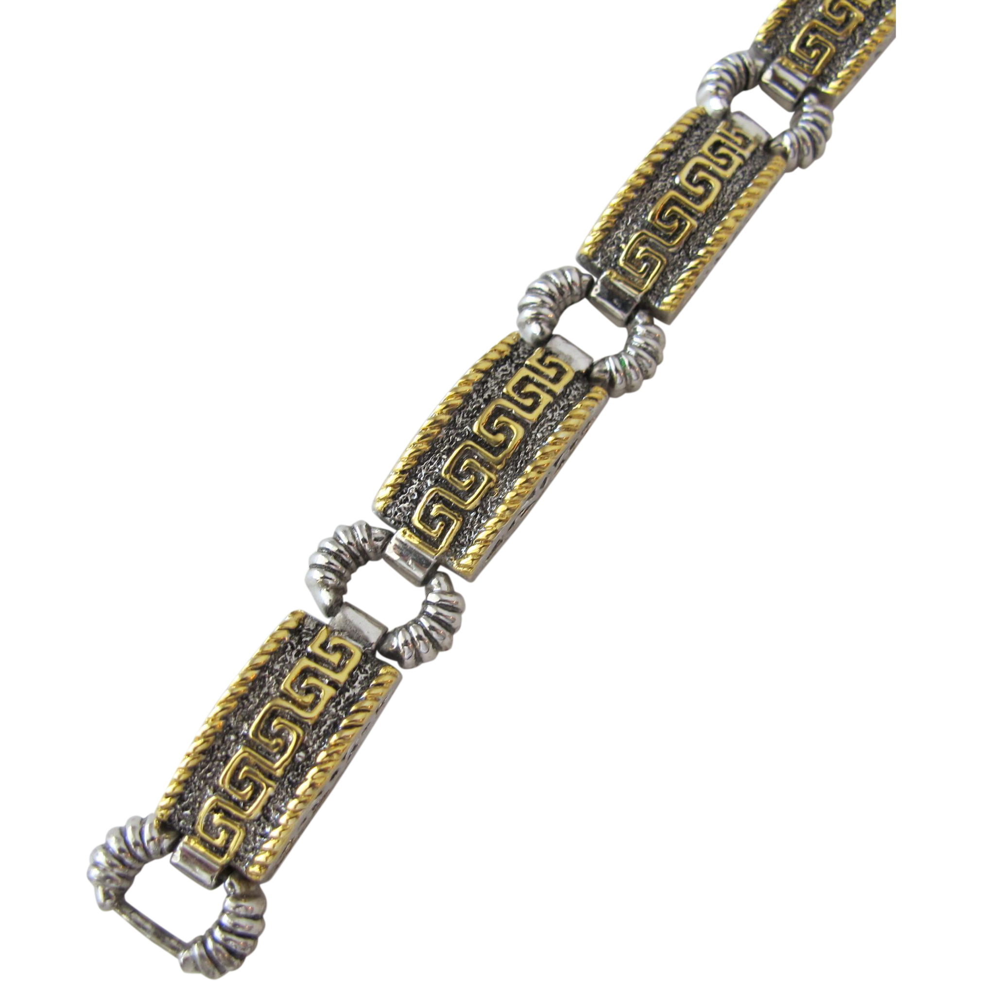 Vintage Bracelet with Greek Motif
