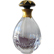 Limited Edition French Perfume Bottle Faberge St Louis Crystal Perfect
