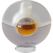Paloma Picasso Perfume Bottle Frosted and Clear Class Parfum