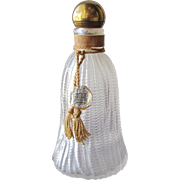 Commercial Perfume Bottle Wresley Gold Tassel