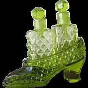 Perfume Bottles Glass Shoe Novelty Japan Irice 1935