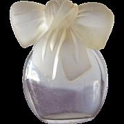 SALE Mini Perfume Bottle Albert Nippon Designer Glass Bow Stopper Held Parfum Extract