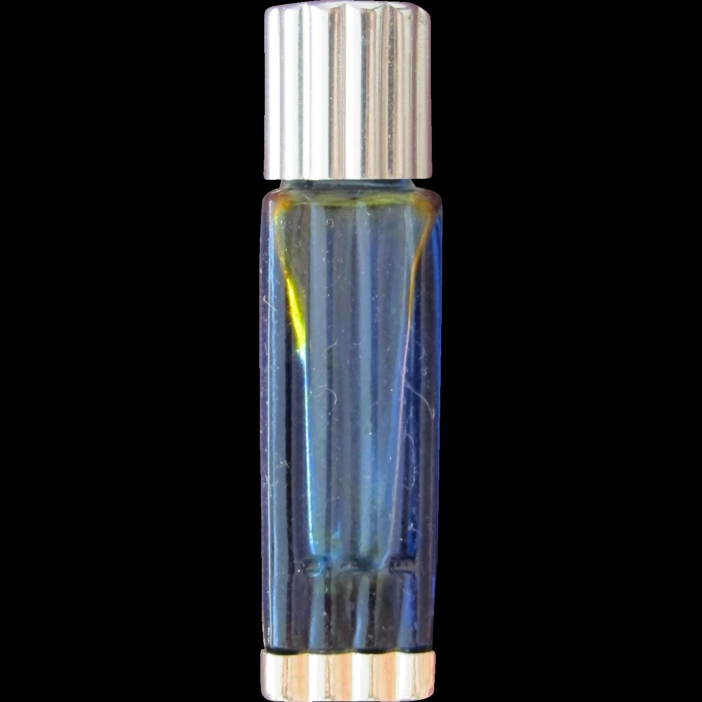 Vintage Mini Perfume Bottle Lalique Deco Design Worth Je Reviens